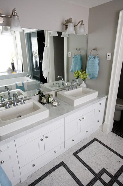 Oalkville House contemporary-bathroom