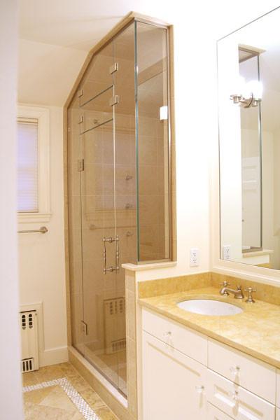 Oasis Shower Doors traditional-bathroom