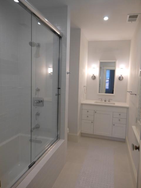Observatory Renovation transitional-bathroom