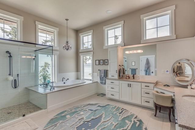 Ocean Bathroom Modern Bathroom