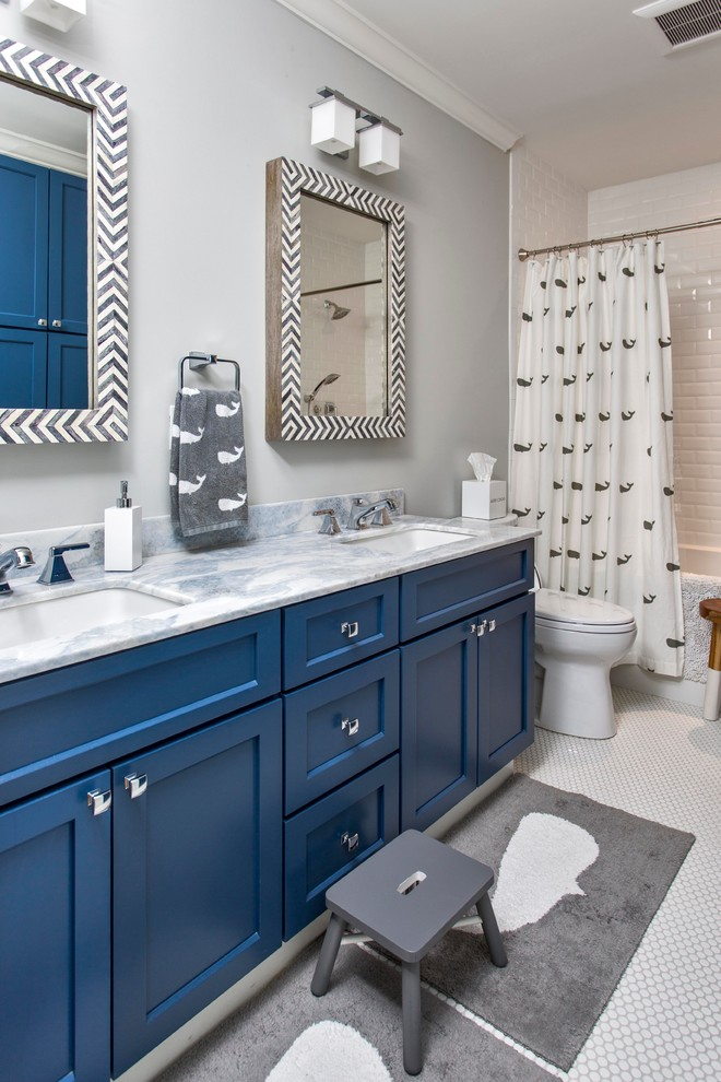 Ocean Front Home, Cape Elizabeth - Contemporary - Bathroom ...
