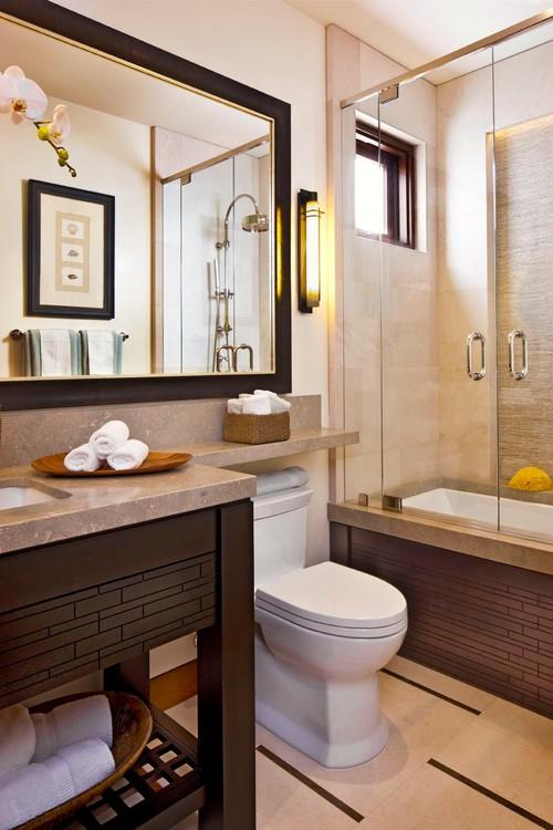 Contemporary Bathroom by Laguna Niguel Interior Designers & Decorators McRae Lambert & Dunn