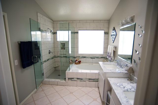 Oceanside bathroom remodel traditional bathroom san - Bathroom renovation san diego ...