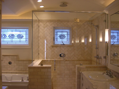 What is the height on the knee wall - Bathroom tile ideas bathroom ...