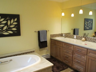 Oceanview Anchorage Master Bath Contemporary Bathroom By Chanelle M W