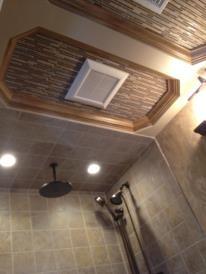 OCTAGON BATH CEILING traditional-bathroom