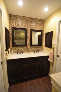 Oge Jack N Jill Bath Remodel Transitional Bathroom