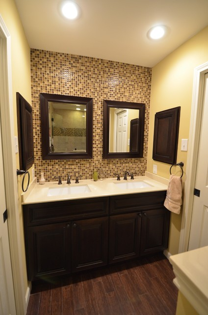 How To Remodel A Jack And Jill Bathroom : Oge jack n jill bath remodel contemporary bathroom