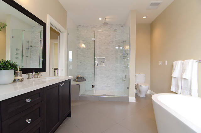 OH Custom 4 contemporary bathroom