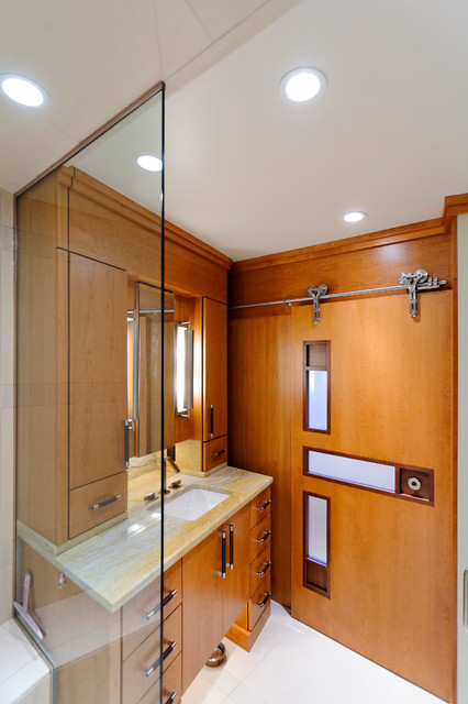 Ohio City Cleveland Ohio Master Suite Contemporary Bathroom Cleveland By Karlovec