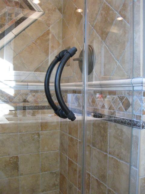 Oil Rubbed Bronze Glass Shower Door Handle Modern