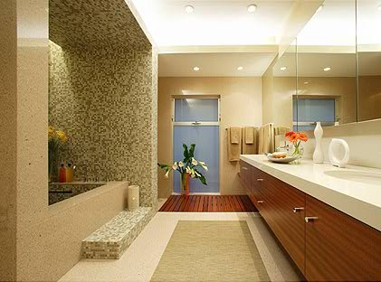 OJMR Architects modern bathroom