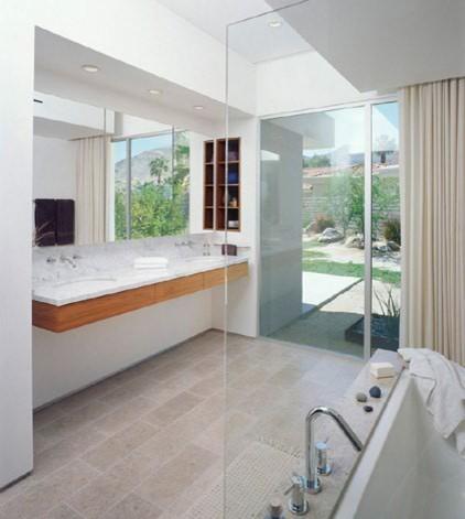 OJMR Architects modern-bathroom