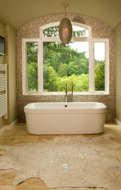 Olalla Residence contemporary-bathroom