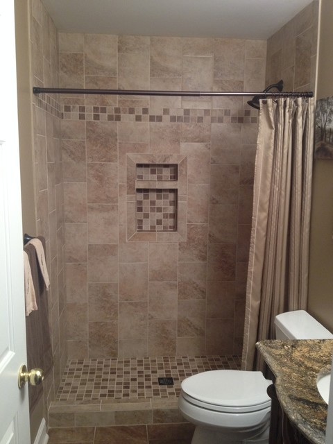 Olcese mesa beige rust bathroom charlotte by lowes for 9x12 kitchen ideas