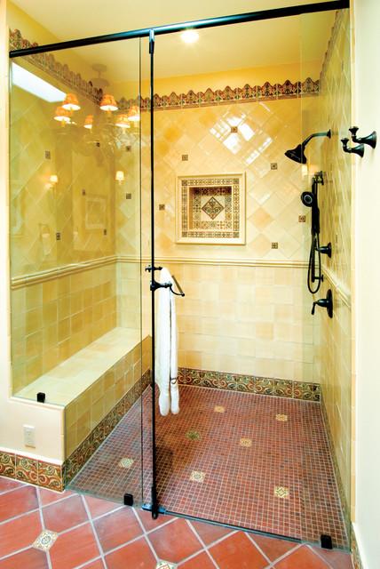 Old California Bath Santa Fe Nm Mediterranean Bathroom Albuquerque By Statements In