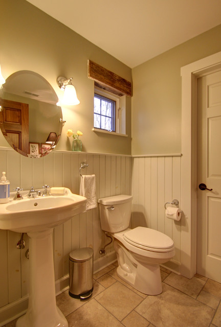 Old Farmhouse Addition Bathroom Columbus