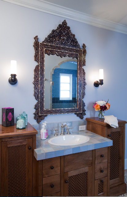 Old Hollywood Mediterranean Bathroom Other Metro By Murphy