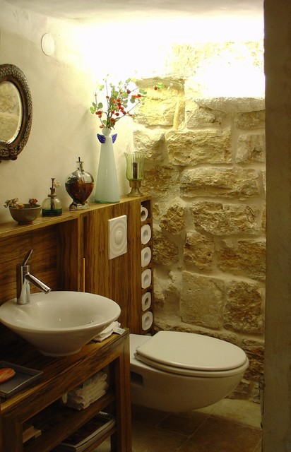 Old House Mediterranean Bathroom Other Metro By