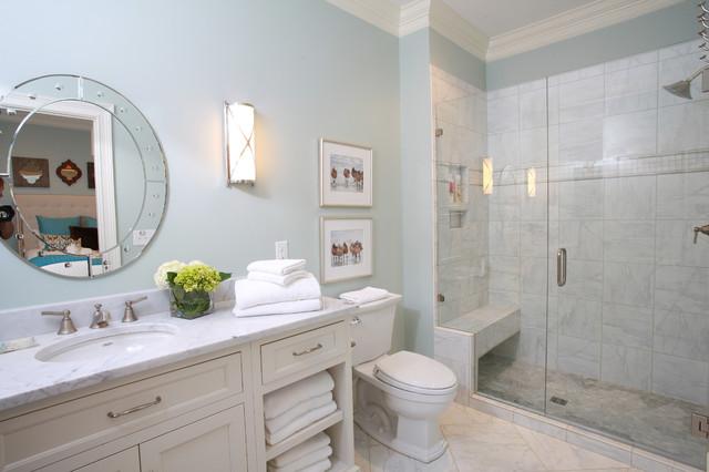 Old Meets New Build Traditional Bathroom Atlanta By Nandina Home Design