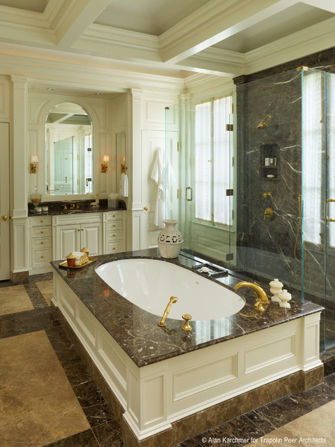 Old Metairie Residence traditional-bathroom