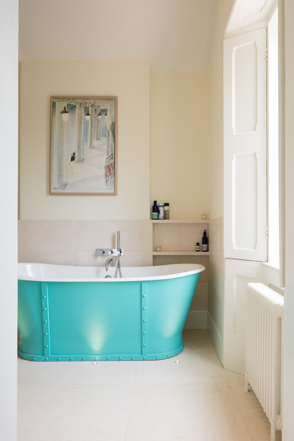 Old rectory traditional bathroom london by aston matthews - Change your old bathroom to traditional bathrooms ...