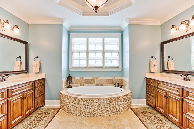 Old stone custom build traditional bathroom other by darrin hasley capstone realty - Change your old bathroom to traditional bathrooms ...