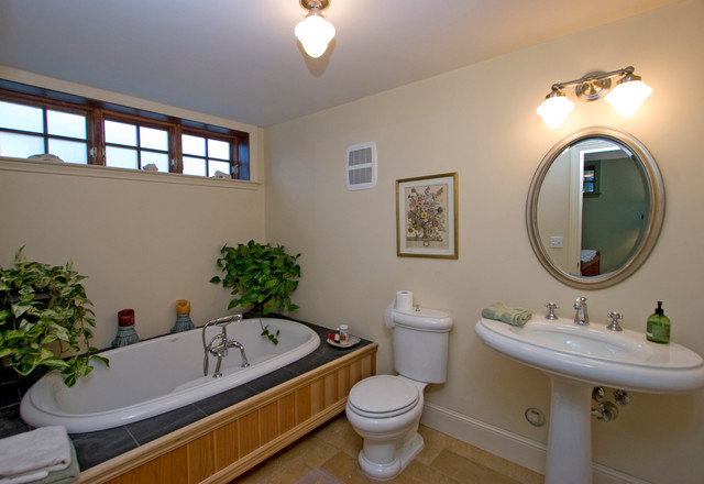 Old town chartreuse traditional bathroom other by gerber berend design build inc - Change your old bathroom to traditional bathrooms ...