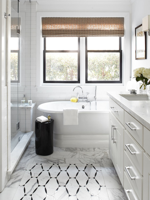 Bath Of The Week Black White And Classic With Some Twists