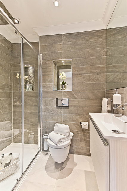Old Woking Townhouse contemporary-bathroom