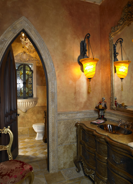 Old World Bathroom By Tampa Home Builders Alvarez Homes 813 701
