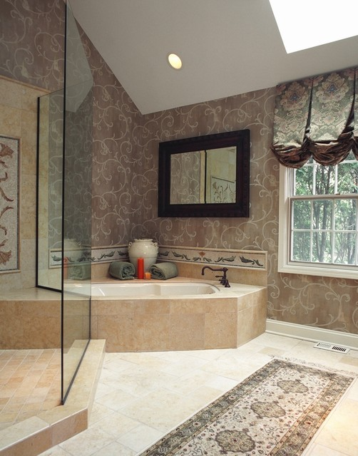Old world charm traditional bathroom chicago by bud dietrich aia - Change your old bathroom to traditional bathrooms ...