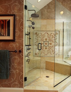 Old World Charm Traditional Bathroom Chicago By Bud Dietrich Aia
