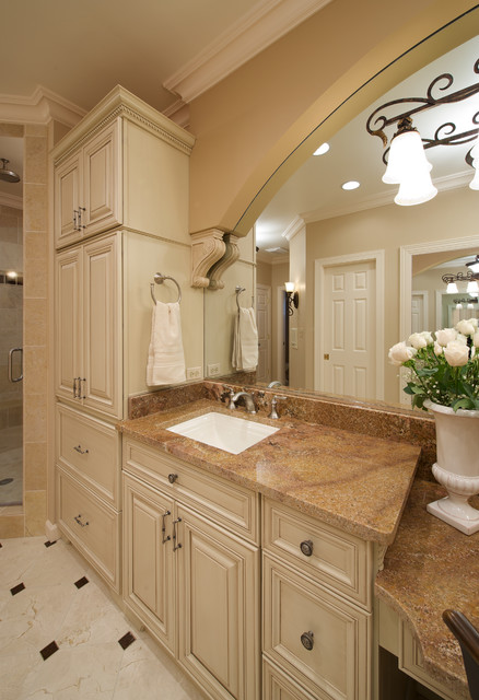 Old World Elegance Traditional Bathroom Dc Metro