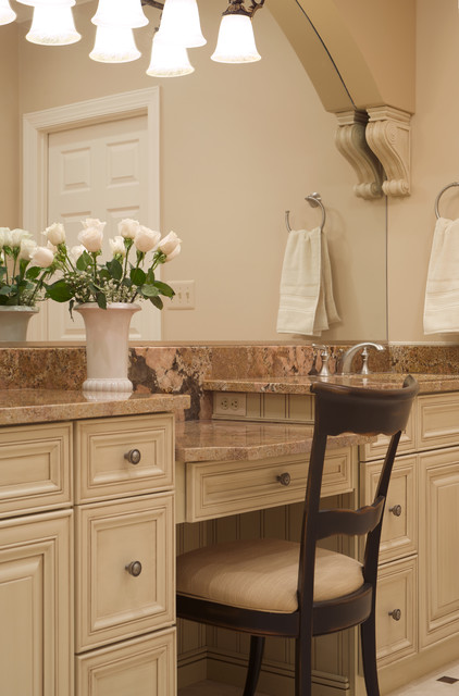 Old World Elegance traditional-bathroom