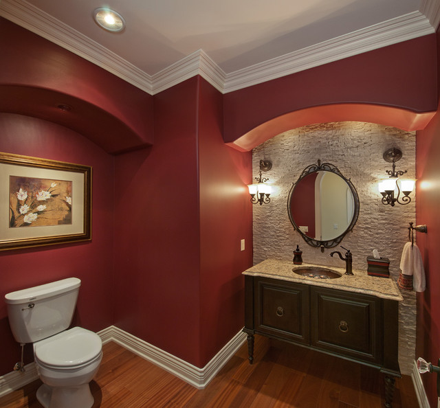 Old World European traditional-bathroom