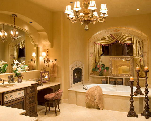 Old World Bathroom Design Ideas: Fountain Hills