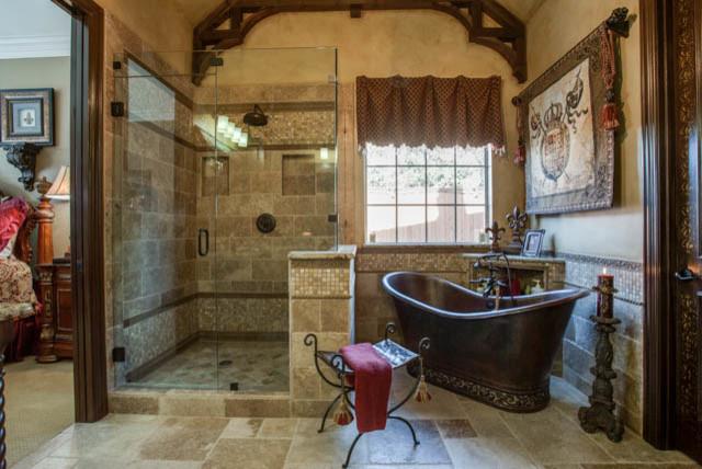 Old World Master Bathroom Traditional Bathroom Dallas By Dfw Improved