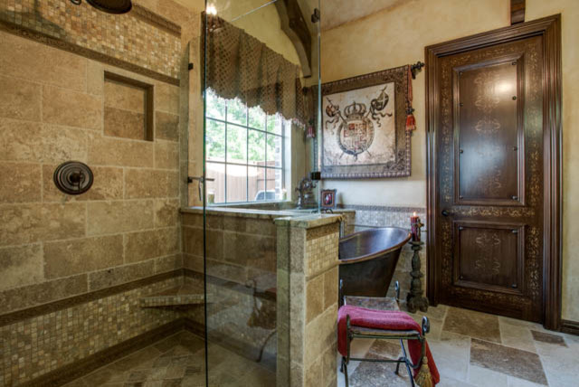 Old World Master Bathroom Traditional Bathroom