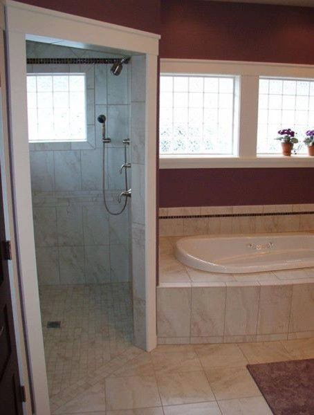 Old world tile by john damiano traditional bathroom other metro by arley wholesale inc - Change your old bathroom to traditional bathrooms ...