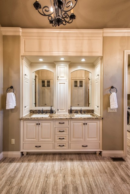 Old World With Gothic Influence Traditional Bathroom By Travis Miller Homes