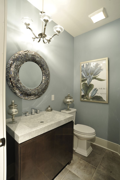 Small Bathroom Ideas Wall Paint Color Contemporary Bathroom Design By Other Metros General Contractor Weaver