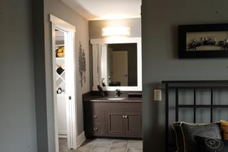 Bathroom Vanities Cincinnati on Delaware  Oh   Modern   Bathroom   Cincinnati   By Weaver Custom Homes