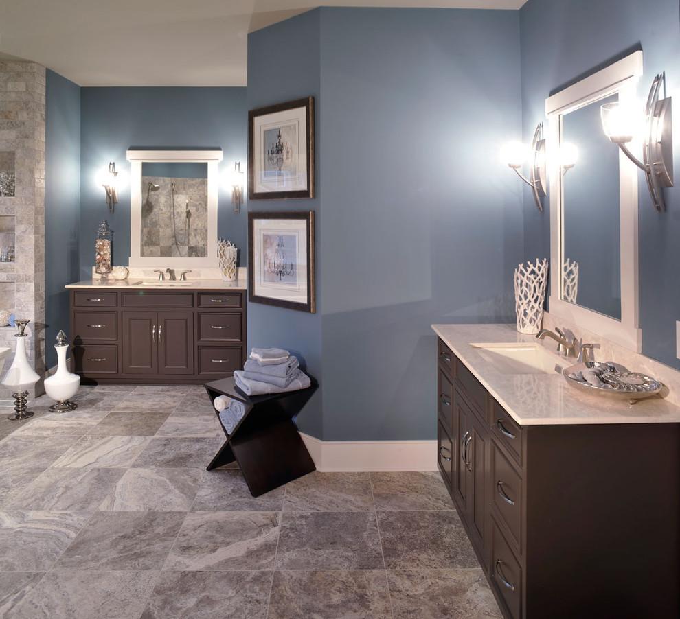 Olentangy Falls ~ Delaware, OH - Contemporary - Bathroom ...