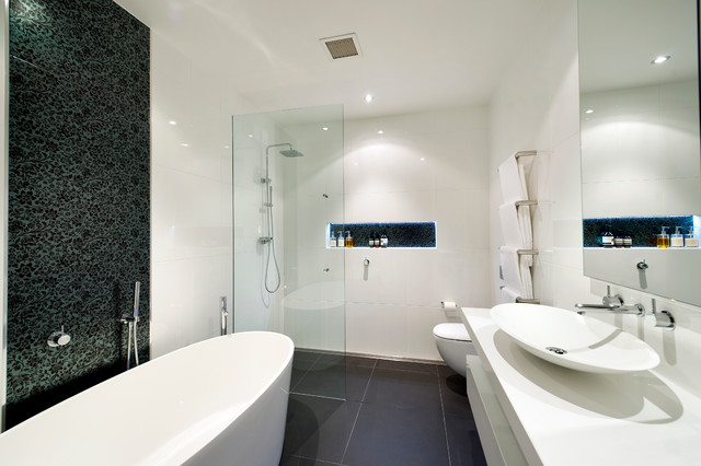 Oliver Lane Melbourne Modern Bathroom Melbourne By Bubbles Bathrooms