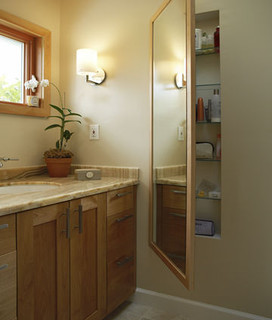 Olson Design & Construction contemporary bathroom
