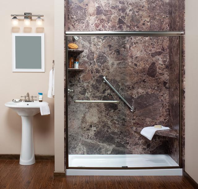 One day bath remodels modern bathroom new orleans for Modern day bathrooms