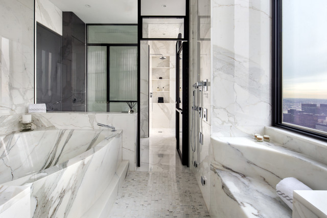 One57 new york city contemporary bathroom new york for Bathrooms in nyc