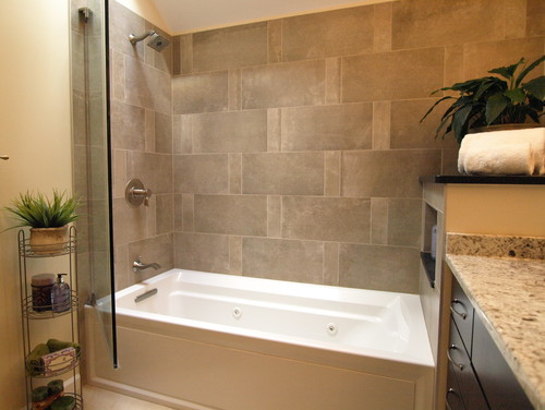 Love this bathtub shower combo where did you get the tub for Drop in bathtub shower combo
