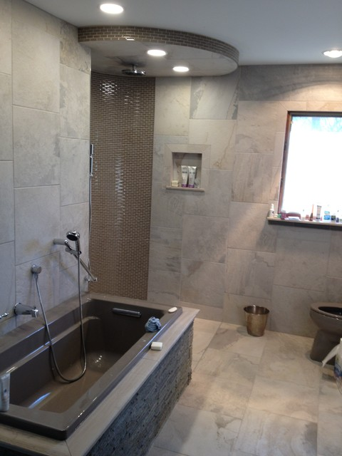 Open Concept Master Bath Modern Bathroom Other Metro